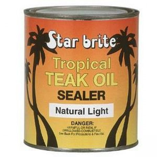 Tropical Teak Oil Sealer Natural Light